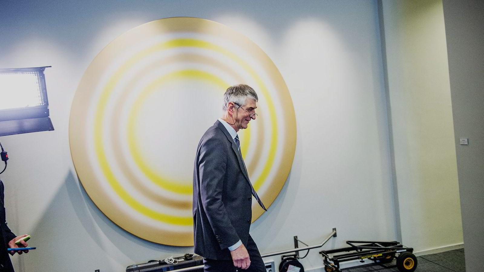 Ett av oppdragene konsulentselskapet Accenture har hatt for Nav, er rådgivning til toppsjef Joakim Lystad.