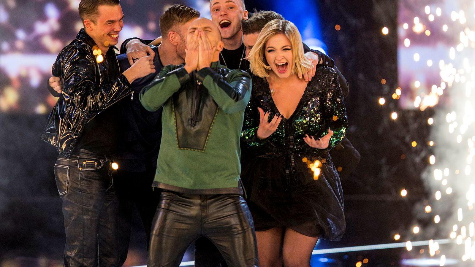 Keiino gikk helt til topps og vant årets norske Melodi Grand Prix i Oslo Spektrum lørdag kveld.