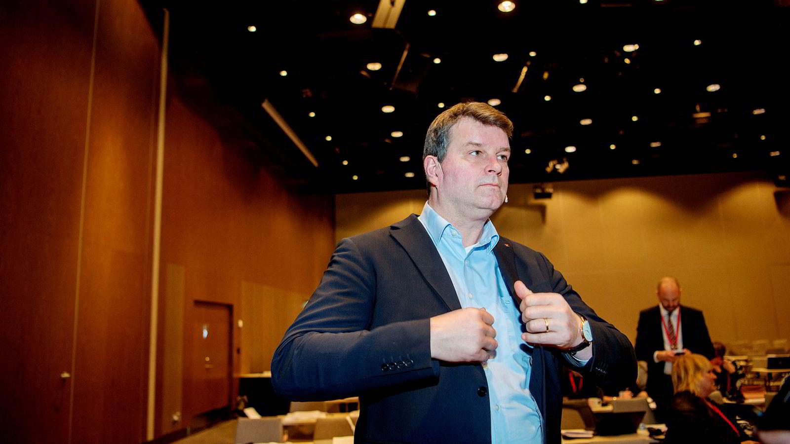 LO-leder Hans Christian Gabrielsen har tillitt til Ap-leder Jonas Gahr Støre.