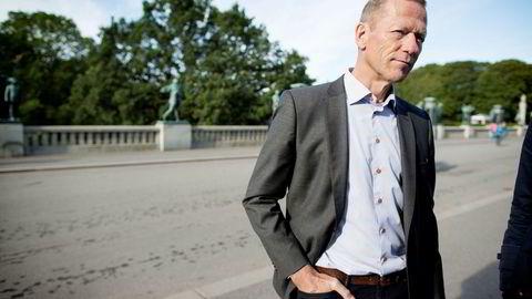 – Reguleringen av Telenor gagner hverken bransjen totalt sett eller Norge nasjonaløkonomisk, sier Ove Fredheim, direktør for Telenors bedriftsmarked. Foto: Ida von Hanno Bast