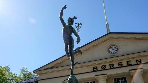 Oslo Børs. Foto: Skjalg Bøhmer Vold
