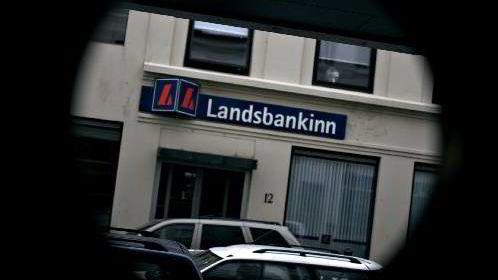 Den islandske Landsbankinn sitt kontor i Reykjavik.