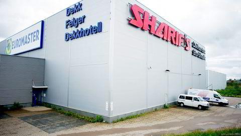 DNB har meldt inn krav på vel fem millioner kroner etter at Sharif-selskapene gikk konkurs. Banken har pant i dekksentereiendommen som nå er tvangssolgt.                   Foto: Mikaela Berg