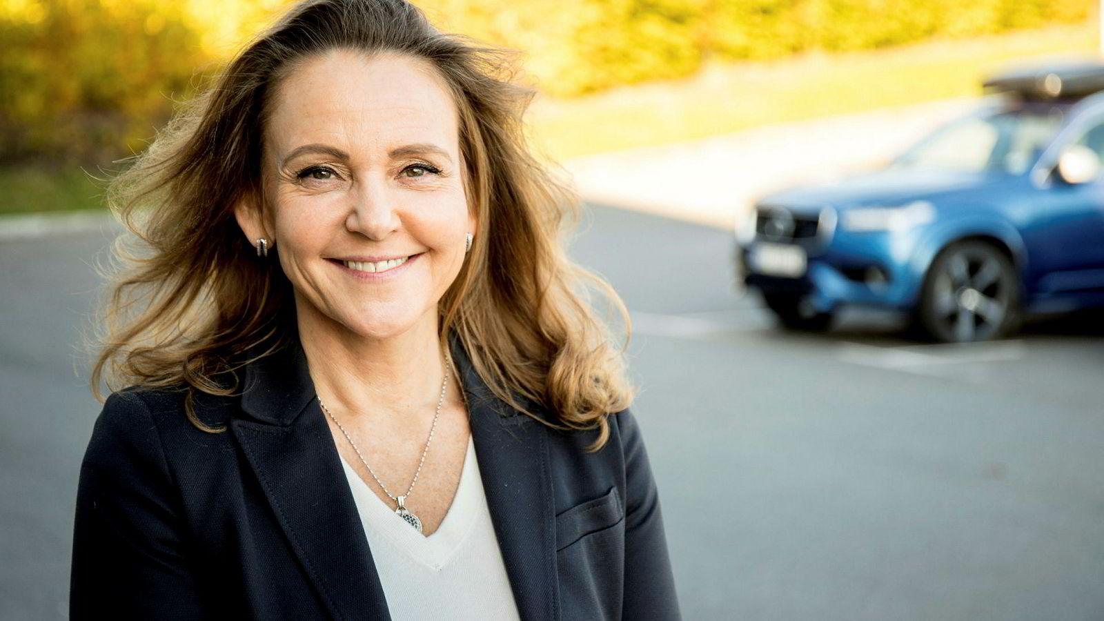 Rita Kristin Broch tar over som sjef for Volvo Cars Norway. Hun kommer fra Diplom-Is