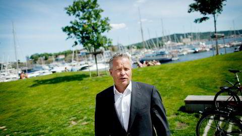 KJØPER INKASSO. Nordic Capital tar opp lån for å kjøpe det norske inkassoselskapet Lindorff, her ved Lindorff-sjef Endre Rangnes. Foto: Anita Arntzen