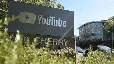 Youtube strammer til. Her fra selskapets hovedkvarter i San Bruno i California.