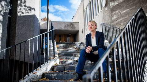 - VELDIG SMART TREKK. Liv Freihow i IKT-Norge tror Nordea og Danske Banks felles mobile betalingsløsning vil gjøre det lettere for forbrukerne. Foto: Skjalg Bøhmer Vold