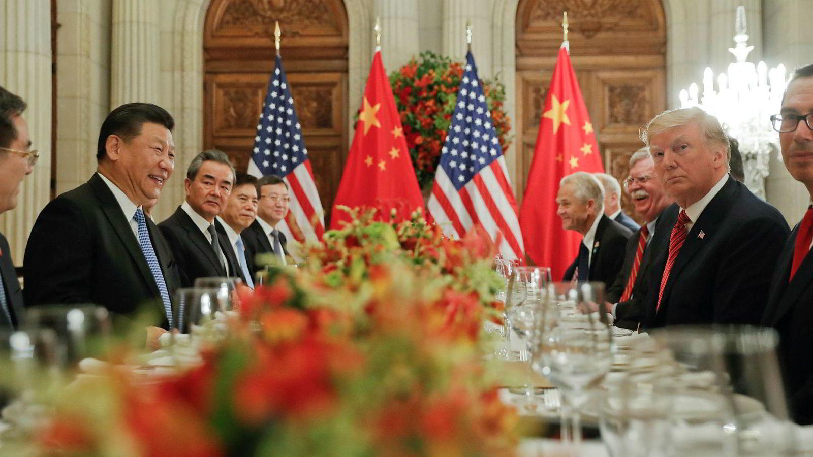 Ledere for verdens 20 største økonomier møtes i slutten av juni for å diskutere internasjonal handel under G20-møtet i Japan. For den amerikanske presidenten er det en ting som gjelder: å få et møte med sin kinesiske kollega.