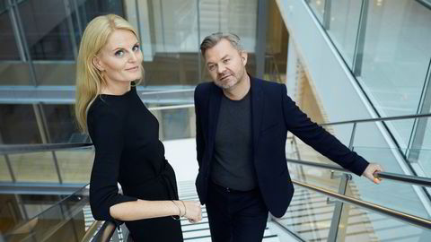 Gunn Kristin Olimstad i DLA Piper og Øystein Bonvik. Foto: Bård Gudim