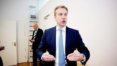 Utenriksminister Børge Brende mener Norge i sanksjonsspørsmålet er helt på linje med våre allierte i EU. Foto: Mikaela Berg
