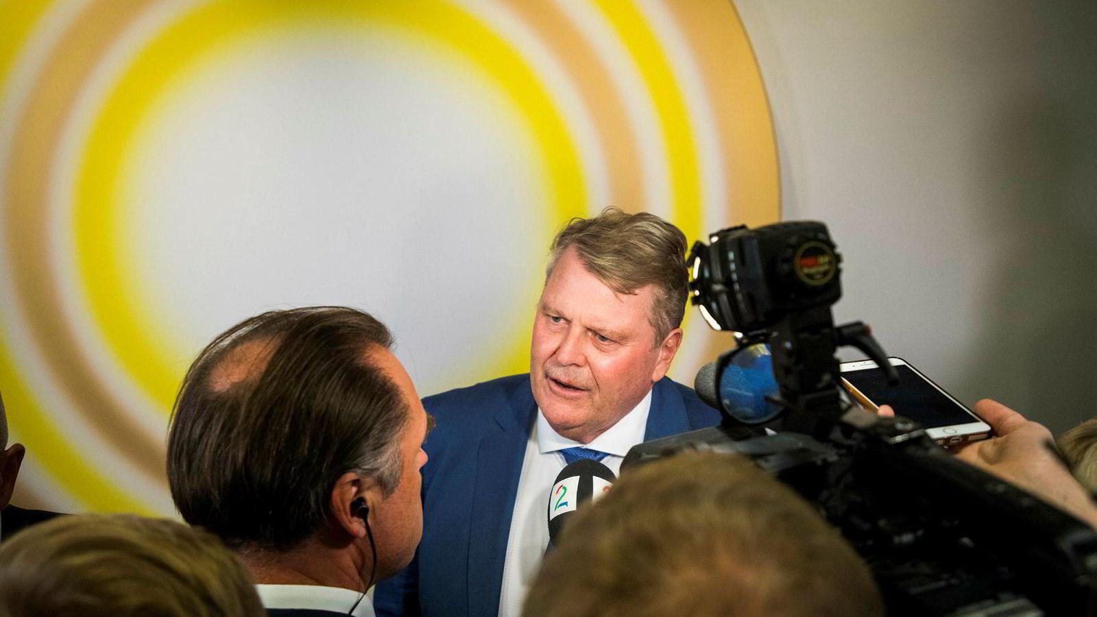 Stortingsrepresentant Hans Fredrik Grøvan er uenig med partileder Knut Arild Hareide.