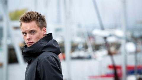 Salmar forventer at de sterke resultatene vil fortsette i 2017. Gustav Magnar Witzøe fra Frøya er Salmar-arving.