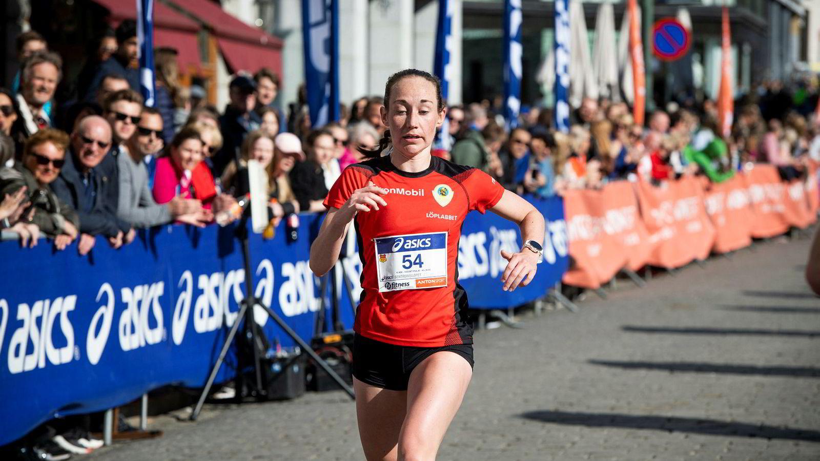 Vienna Søyland Dahle (27) fant ingen sammenheng mellom prestasjon i mosjonsløp og antall intervalløkter da hun undersøkte saken i sin masteroppgave i idrettsvitenskap. Selv vant Søyland Dahle kvinneklassen under fjorårets Sentrumsløp.