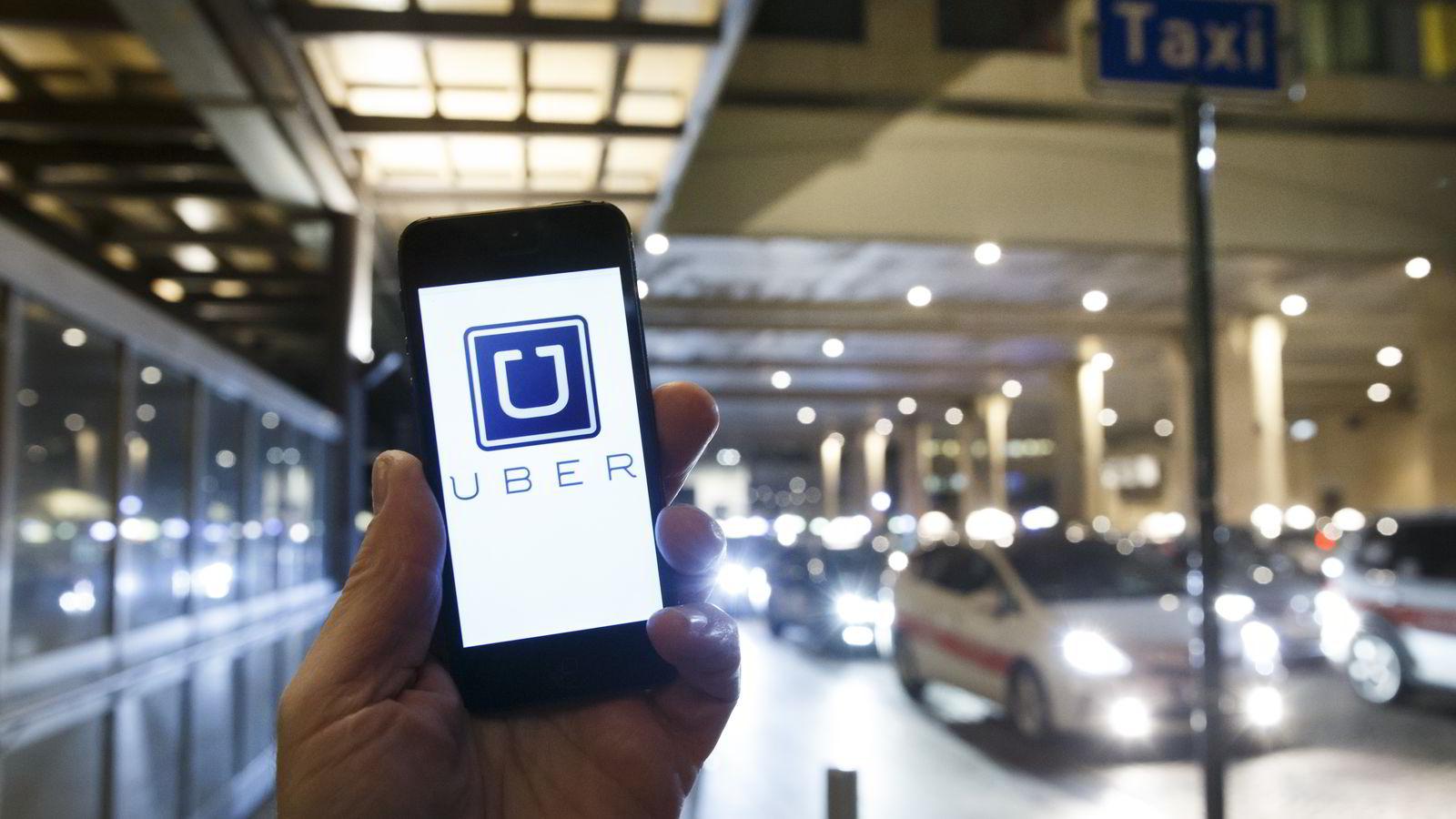 Det er ikke straffbart å være Uber-sjåfør, slår Oslo tingrett fast. Foto: Heiko Junge /