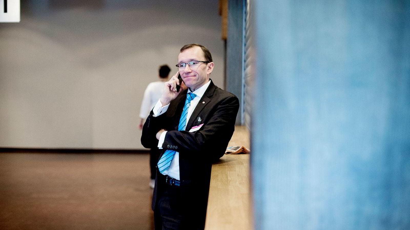 Enige om EU og energi? Aps Espen Barth Eide er i forhandlingsinnspurt med regjeringspartiene.