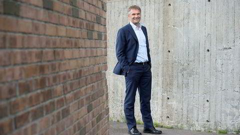 – Vi har store mål i bedriftsmarkedet, sier administrerende direktør Abraham Foss i Telia Norge.