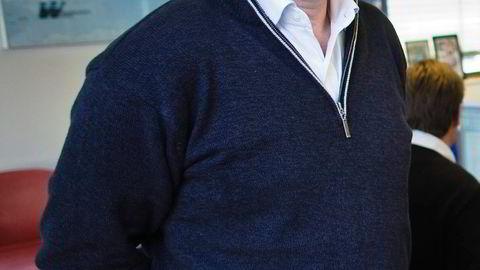 Platou Economic Researchs tørrlastanalytiker Bjørn Bodding mener hovedproblemet for tørrlastrederiene er at Kinas økonomiske vekst har bremset opp.                    Foto: Gunnar Bløndal