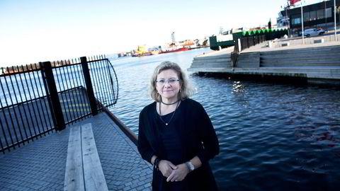 Petoro-sjef Grethe K. Moen. Foto: Tomas Alf Larsen