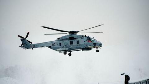 Den syvende NH90-maksinen ankom Norge rundt 10 år forsinket.