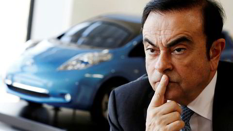 Carlos Ghosn, styreleder i den japansk-franske bilprodusenten Renault-Nissan.