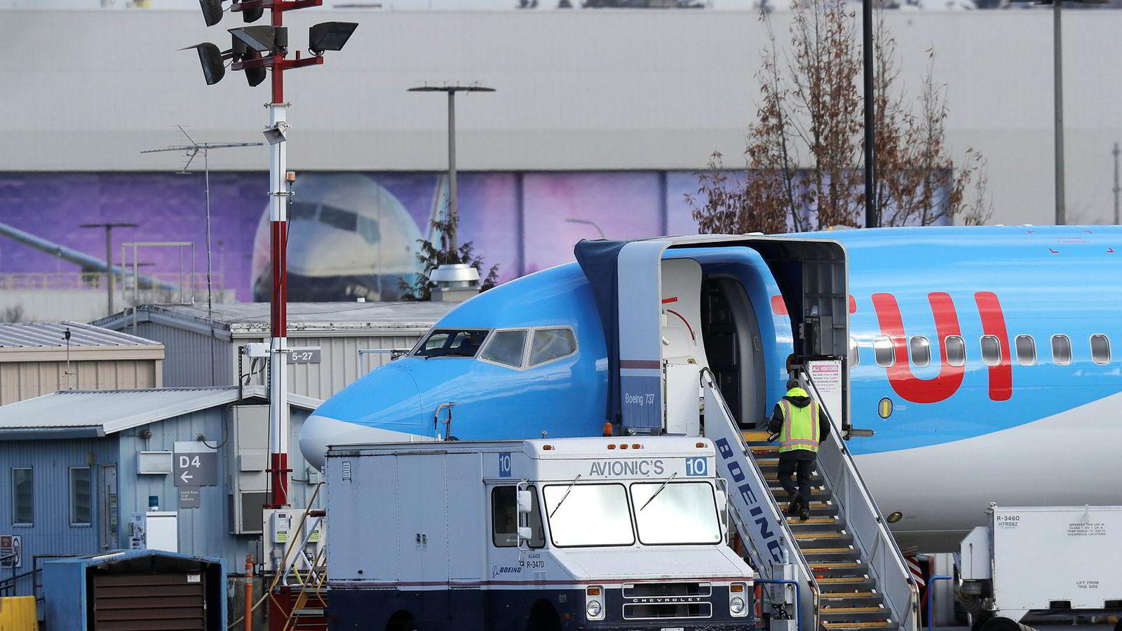 Reiselivsselskapet TUI har 15 Boeing-fly av typen 737 Max.