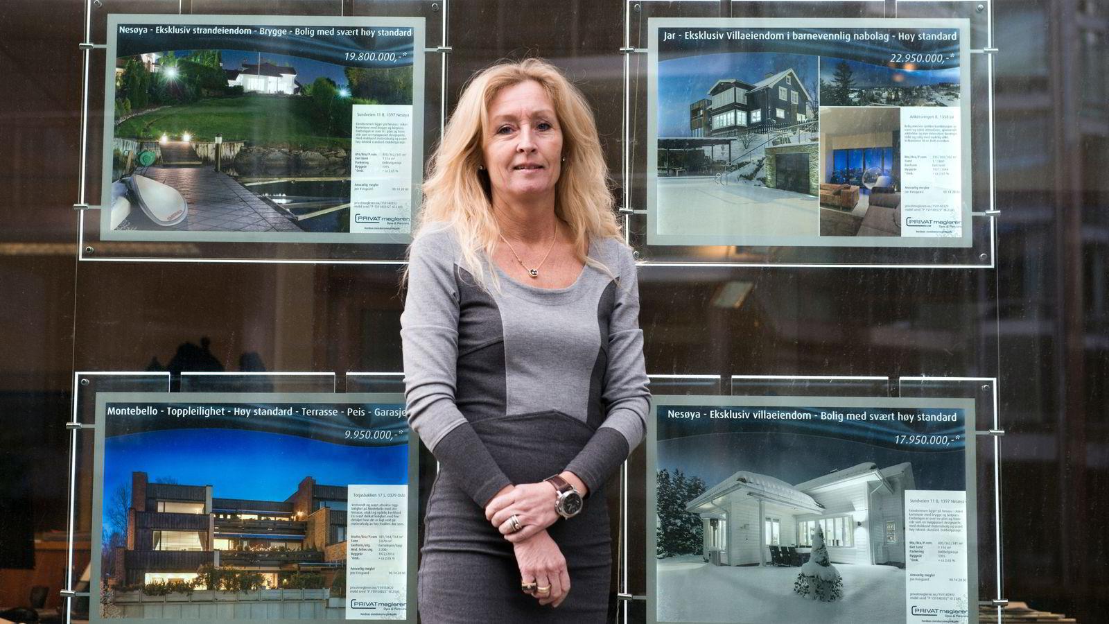 Administrerende direktør Grethe W. Meier i Privatmegleren har lenge irritert seg over Eiendomsmeglerguiden.no og klager nå tjenesten inn for Forbrukerombudet.