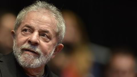 Brasils tidligere president Luiz Inacio Da Silva mistenkes for å ha nytt godt at korrupsjonsskandalen knyttet til Petrobras, Foto: Douglas Magno/AFP/NTB Scanpix.