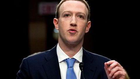 Facebook og toppsjef Mark Zuckerberg planlegger sammen med en rekke partnere å lage en ny kryptovaluta. Foto: Andrew Harnik / AP / NTB scanpix.