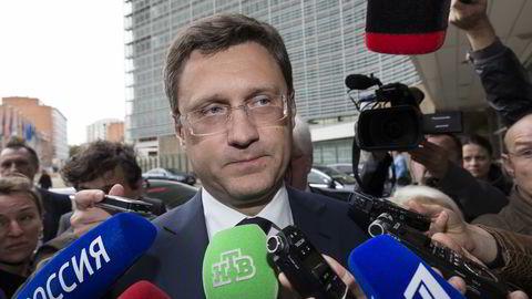 Russlands energiminister Alexander Novak. Foto: