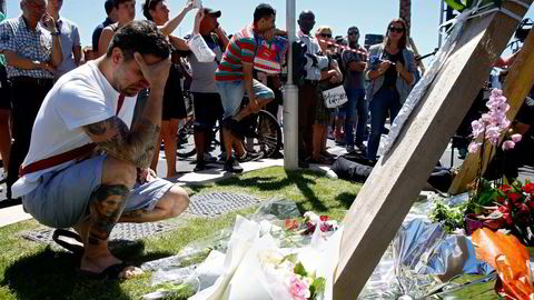 Terrorangrepet i Nice kostet 84 menneskeliv. Foto: Pascal Rossignol/Reuters/NTB Scanpix