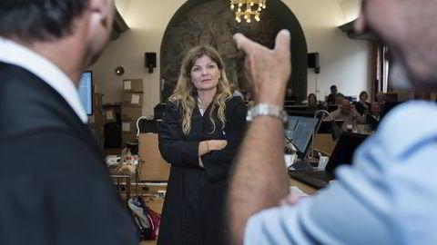Statsadvokat Birgitte Budal Løvlund vil ha bort en av meddommerne i Acta-ankesaken. Foto: Carina Johansen