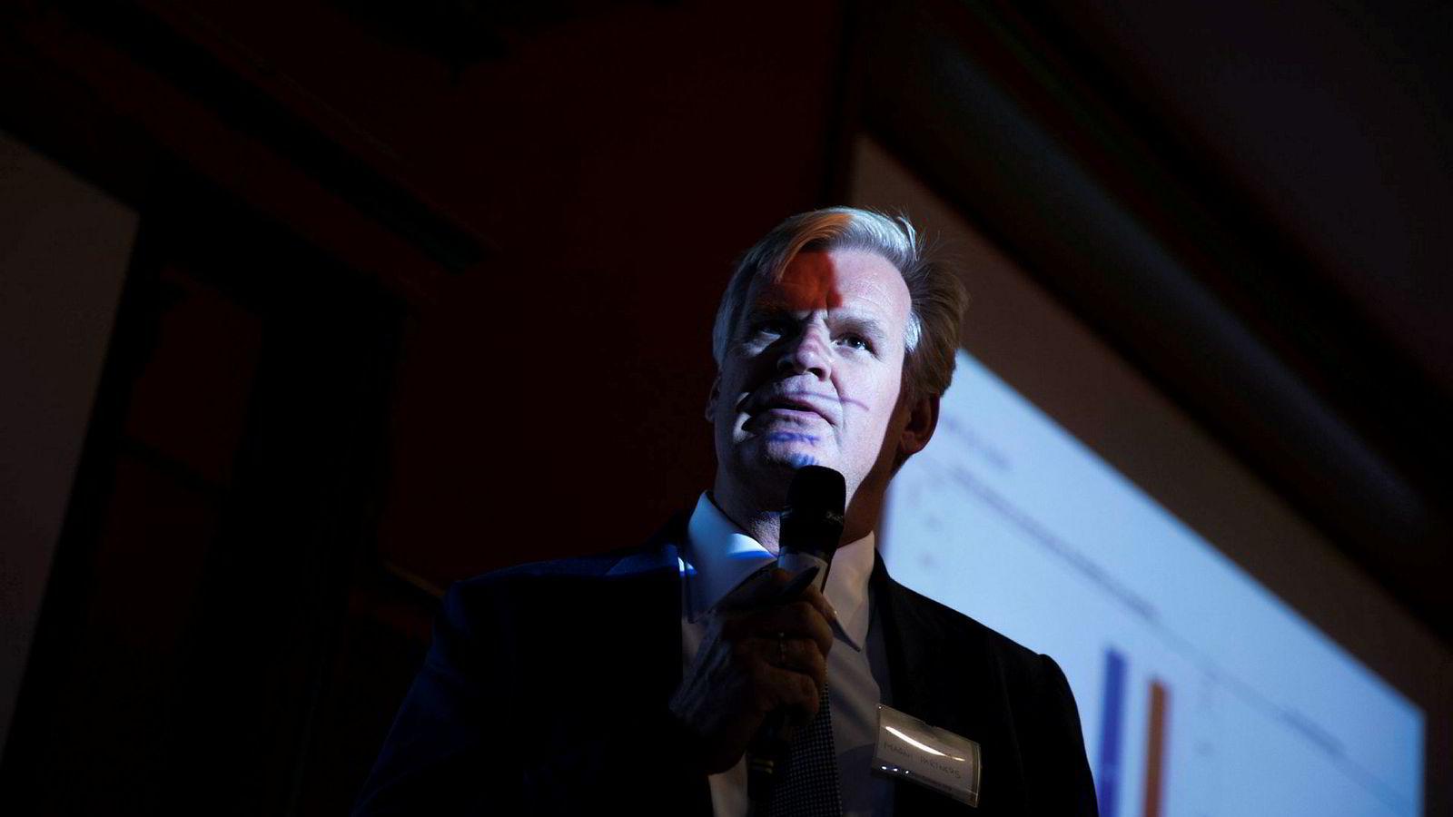 Styreleder Tor Olav Trøim i Borr Drilling, enn så lenge.
