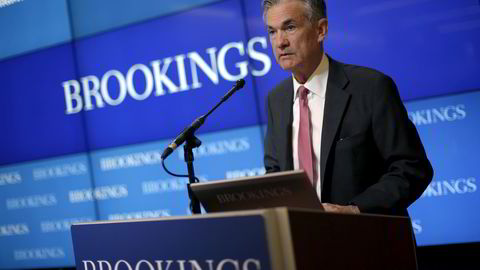 Washington, DC, 3. august 2015: Styremedlem i Federal Reserve Jerome Powell. Foto: NTB Scanpix/Reuters/Carlos Barria