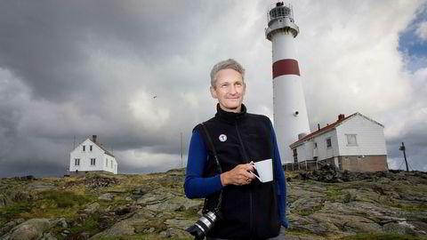 Nils Øveraas var inntil nylig generalsekretær i Den Norske Turistforening. I fjor var han også blant dem som tjente mest i landet. Her på Torungenfyr.