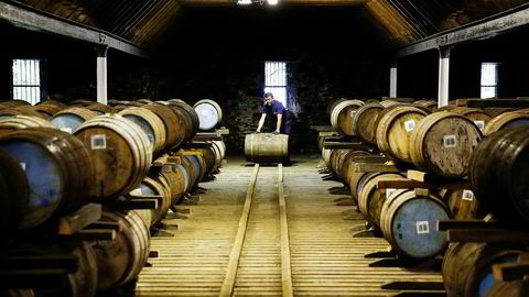 Hvis Storbritannia melder seg ut av EU på fredag uten en avtale med EU, vil det skape store utfordringer for skotsk whisky.