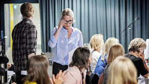 Innovasjon Norge-sjef Anita Krohn Traaseth deltok onsdag på toppmøtet for kvinnelige gründere i Mathallen i Oslo. Foto: Aleksander Nordahl