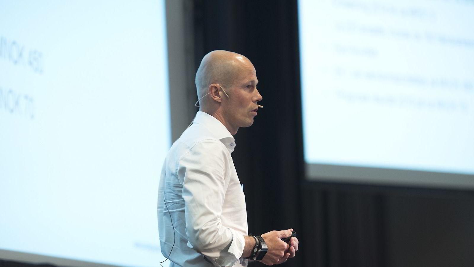 Odd-Erik Bunde satte et kritisk blikk på den norske eiendomsbransjen, som han selv er del av.