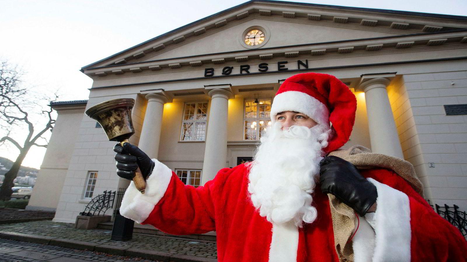 Komboen Oslo Børs og jul betyr gjerne gode tider for nyttårsrakett-aksjene.