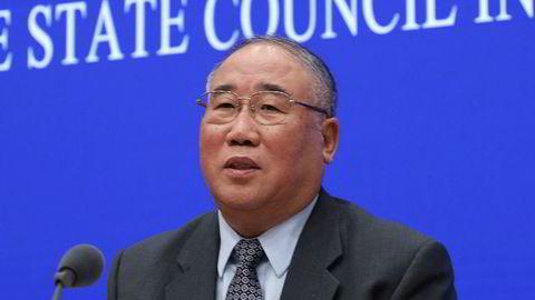 Kinas forhandlingsleder Xie Zhenhua sier klimaforhandlingene er gått i vranglås.