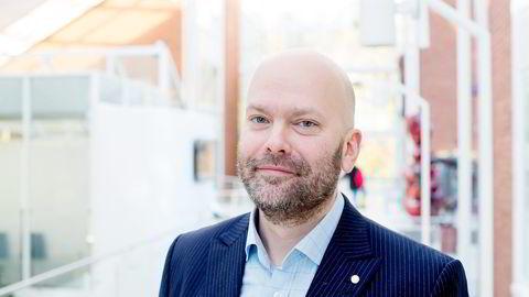 Fjord Line-sjef Rickard Ternblom.