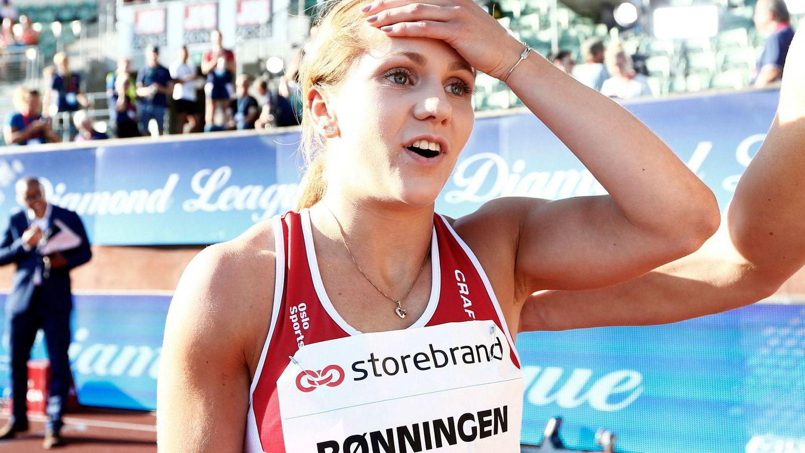 I januar satt Helene Rønningen satte ny norsk innendørsrekord på 200 meter. I torsdagens Bislett Games gjentok hun bragden utendørs.