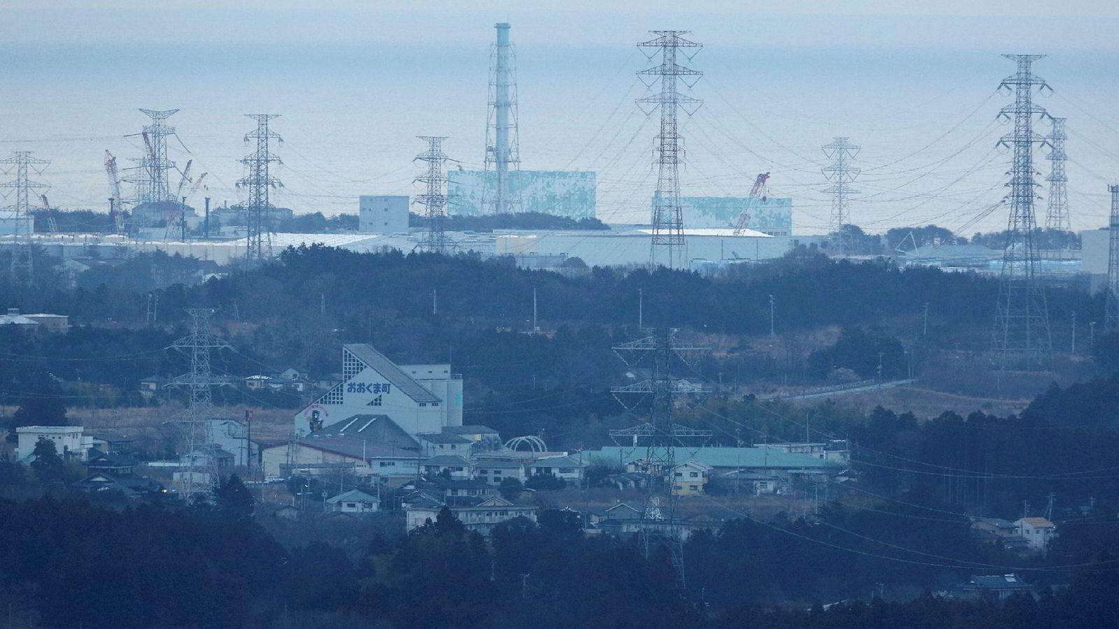 Atomkraftverket i Fukushima.