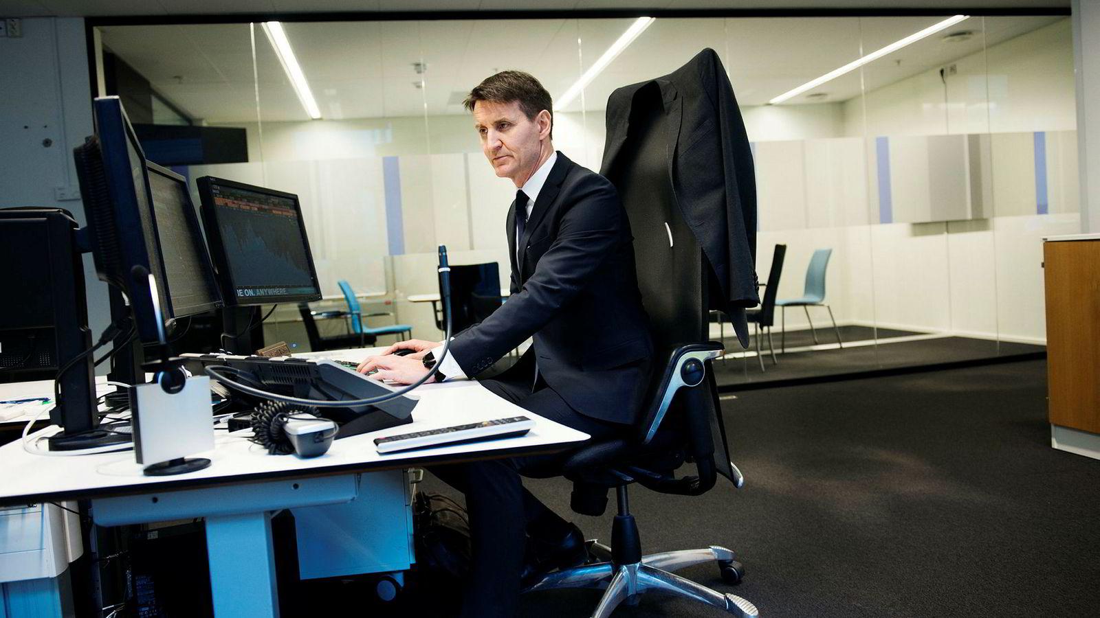 Nils Kristian Knudsen er strateg i Handelsbanken.