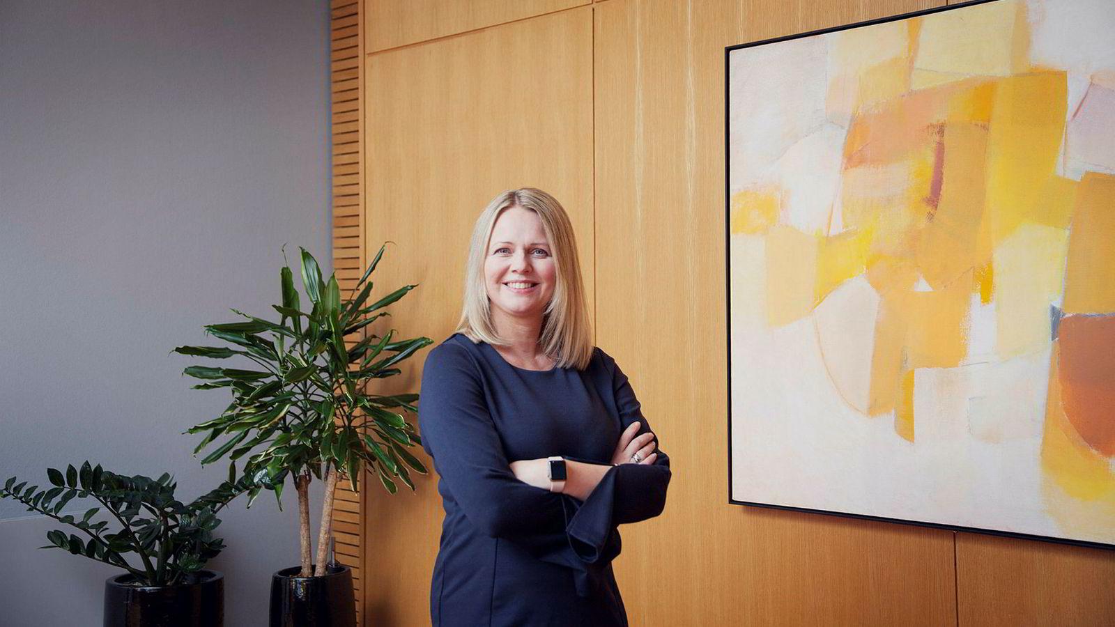Frida Blomgren, statssekretær i Kulturdepartementet.