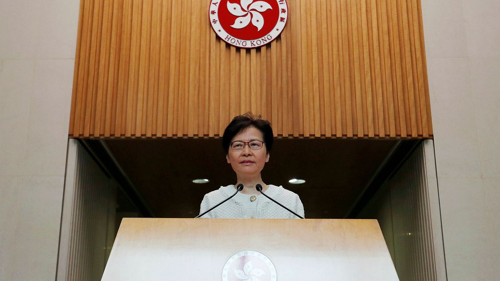 Hongkong's Chief Executive Carrie Lam attends a news conference in Hongkong, China September 10, 2019. REUTERS/Amr Abdallah Dalsh