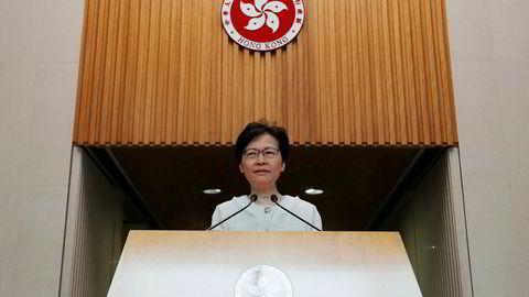 Hongkong's Chief Executive Carrie Lam attends a news conference in Hongkong, China September 10, 2019. REUTERS/Amr Abdallah Dalsh
