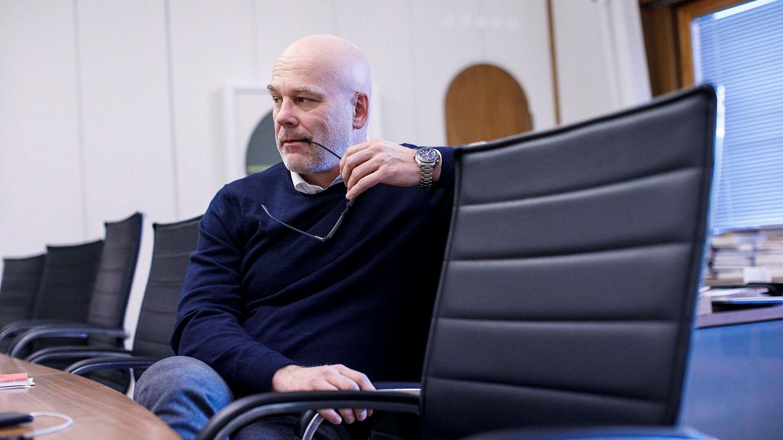 Thor Gjermund Eriksen har vært sjef i NRK i seks år.