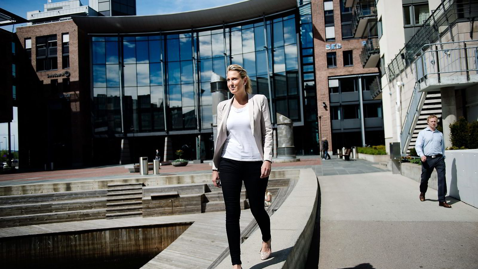 Erica Blomgren, sjefstrateg i SEB Markets.