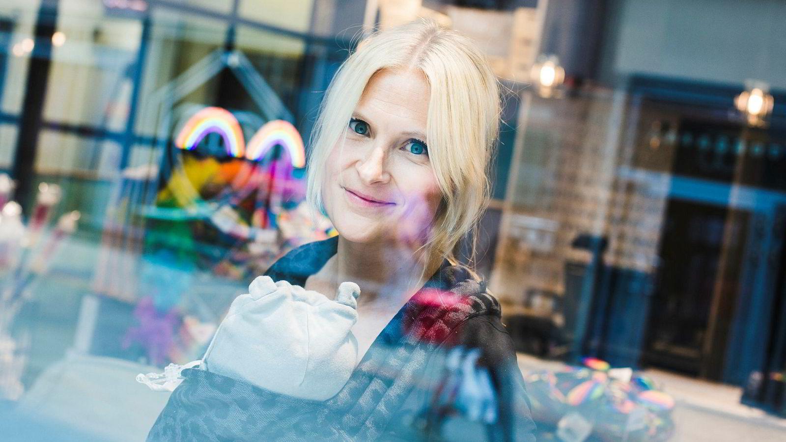 Stine Trygg-Hauger er ny norgessjef for Clas Ohlson – og i mammaperm.
