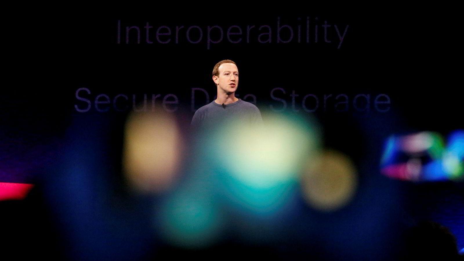 Facebook-sjef Mark Zuckerberg får mye kritikk for håndteringen av brukernes personvern.